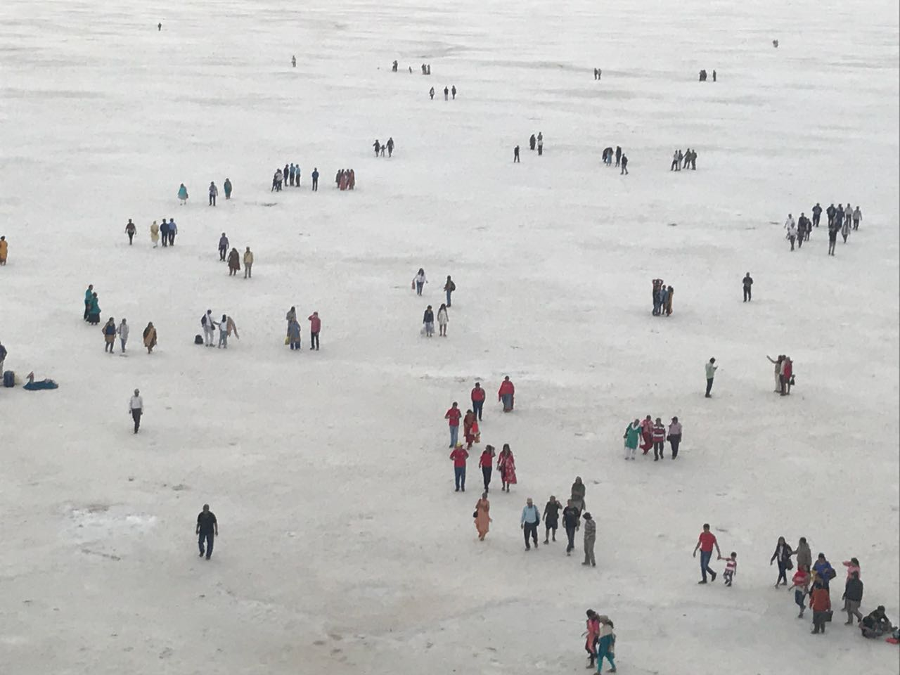 White Salt Pan at the Rann